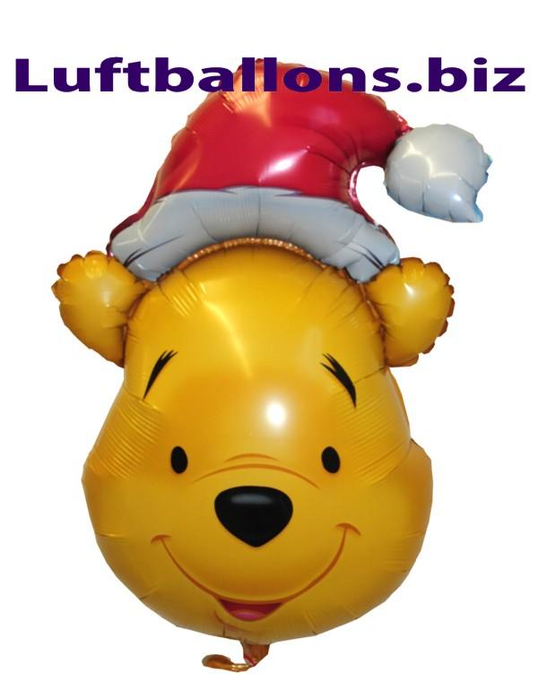 weihnachts luftballon pu b r mit helium geschenk zu. Black Bedroom Furniture Sets. Home Design Ideas