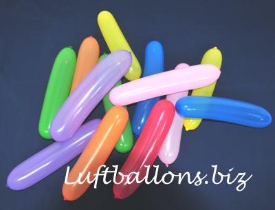 Sonderformen Latex-Luftballons, Banner