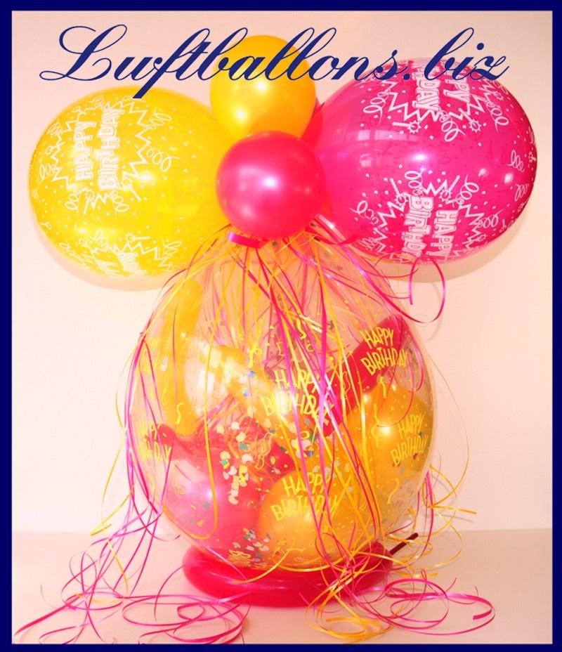 geschenkballon ballon zum verpacken von geschenken zum geburtstag lu geschenkballon zum. Black Bedroom Furniture Sets. Home Design Ideas