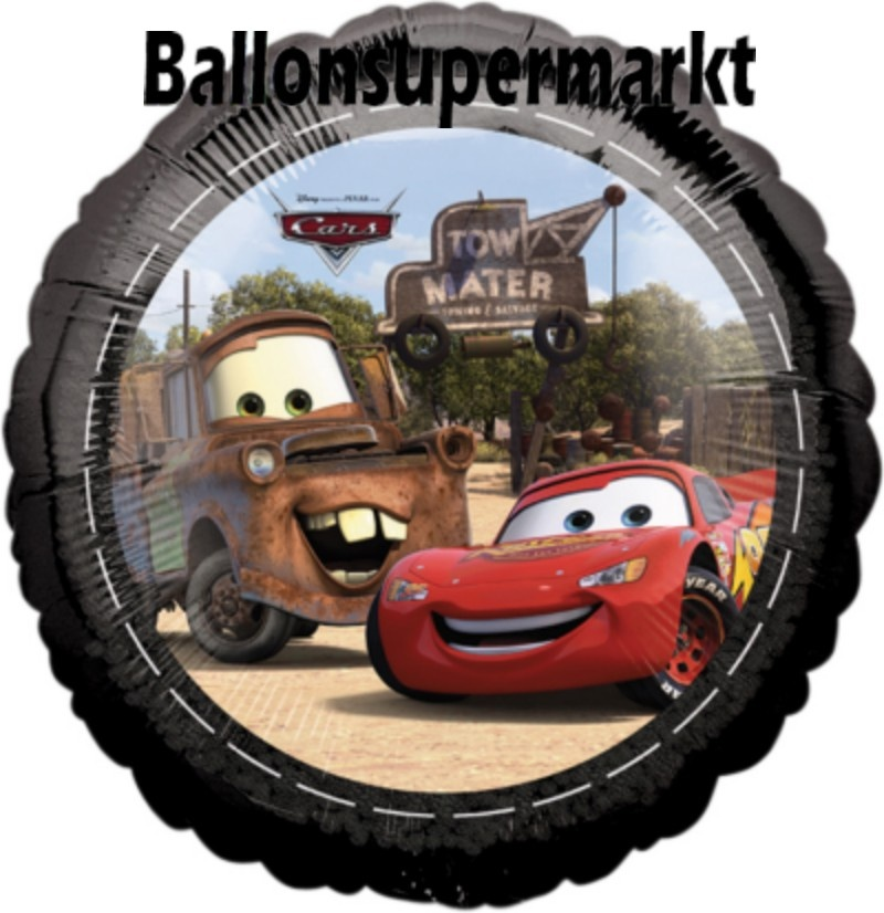 Cars Lightning McQueen Luftballon