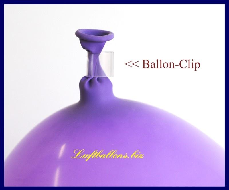 Ballonclips, Clips zum Verschließen von Luftballons