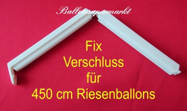Fixverschluss für Riesenballons