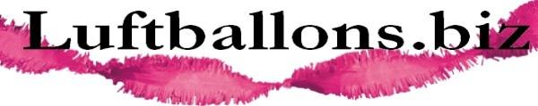 Fransen Girlande, Girlandendekoration, Girlande in Pink