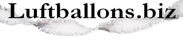 Fransen Girlande, Girlandendekoration, Girlande in Weiß