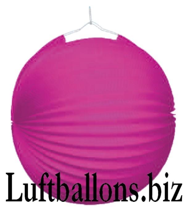 Party Und Festdekoration Lampion Pink Lu Party