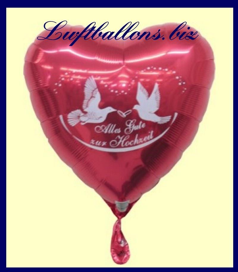 alles gute zur hochzeit luftballon aus folie lu luftballon hochzeit folie rot alles gute zur. Black Bedroom Furniture Sets. Home Design Ideas