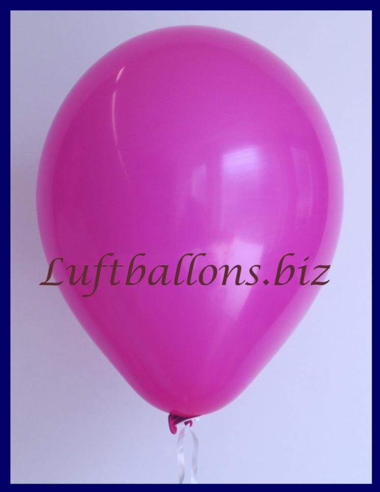 Luftballon Fuchsia, 25 cm
