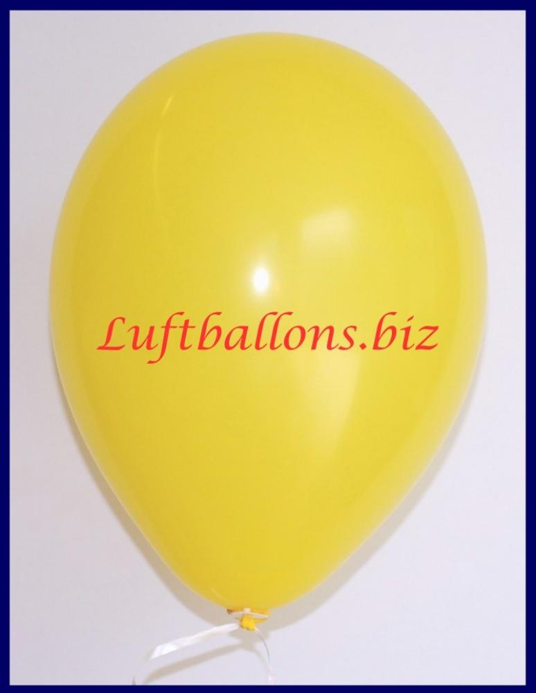Luftballon Gelb, 25 cm
