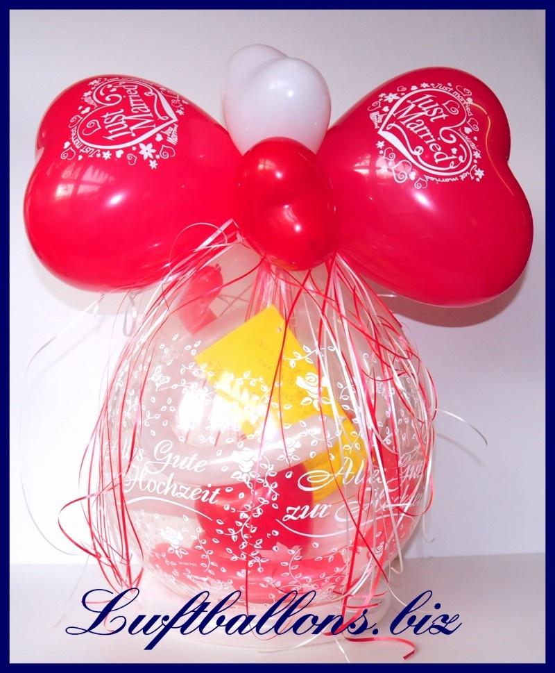 geschenkballon alles gute zur hochzeit hochzeitsgeschenk. Black Bedroom Furniture Sets. Home Design Ideas