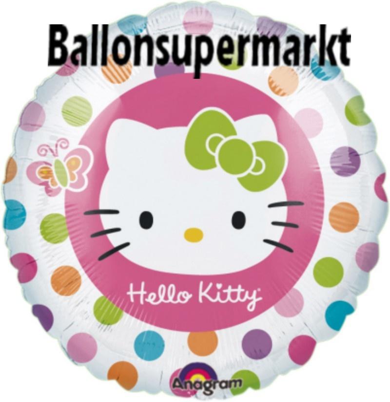 Hello Kitty Regenbogen Luftballon