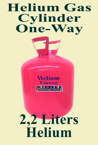 helium einweg flaschen 5 st ck mit je 2 245 liter. Black Bedroom Furniture Sets. Home Design Ideas