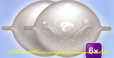 Kettenballons Hochzeit
