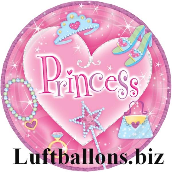 disney princess Partyteller, Teller zum Kindergeburtstag mit den Prinzessinnen