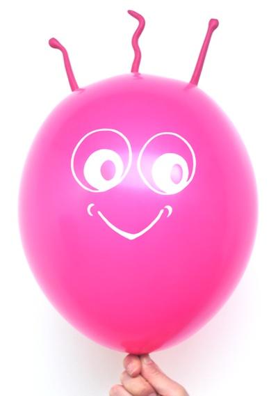 Marsi Luftballon in der Farbe Magenta