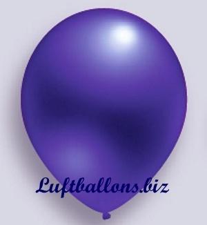 Deko Luftballon, Violett, Metallicfarben, S-2