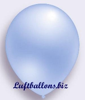 Deko Luftballon, blau, Perlmuttfarben, S-2