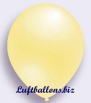 Deko Luftballon, elfenbein, Perlmuttfarben, S-2