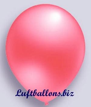 Deko Luftballon, rosa, Perlmuttfarben, S-2