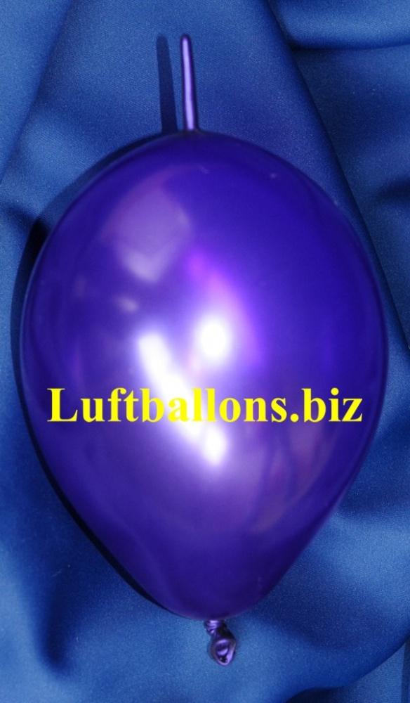 kleiner girlanden-luftballon in Violett