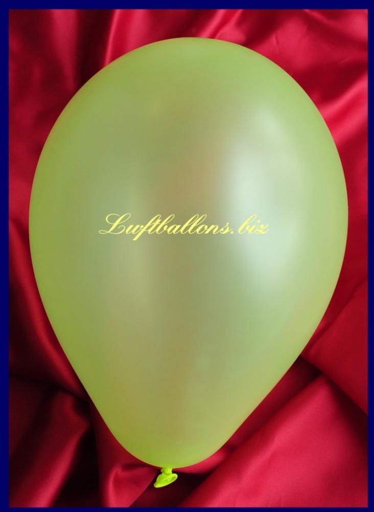 Luftballon Neon Grün
