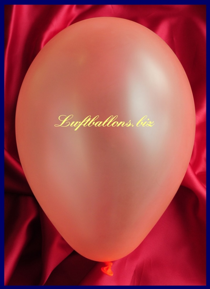 Luftballon Neon Orange