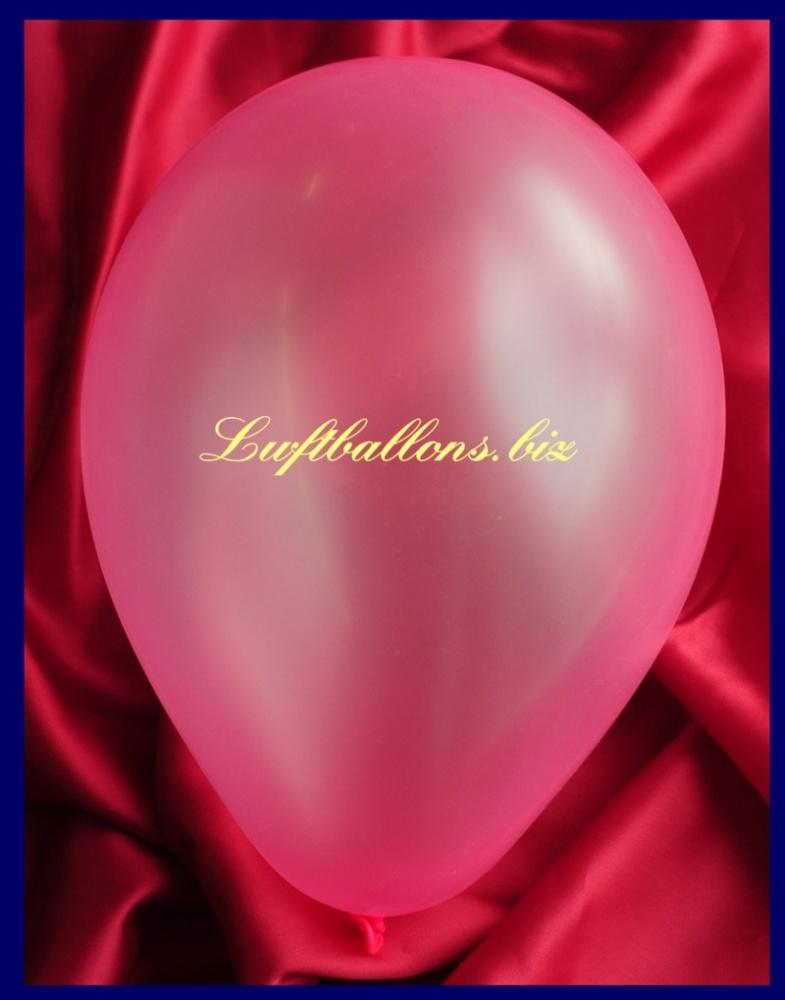 Luftballon Neon Pink