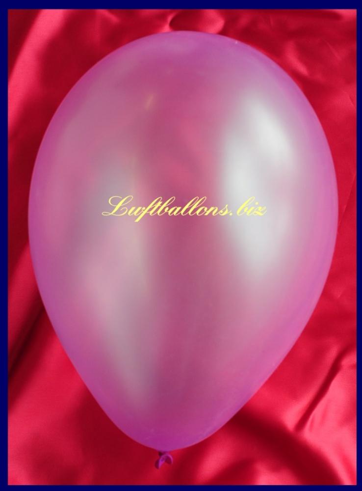 Luftballon Neon Violett