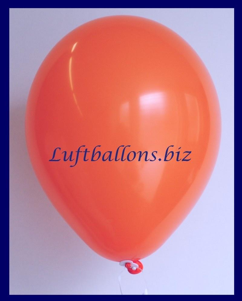 Luftballon Orange, 25 cm