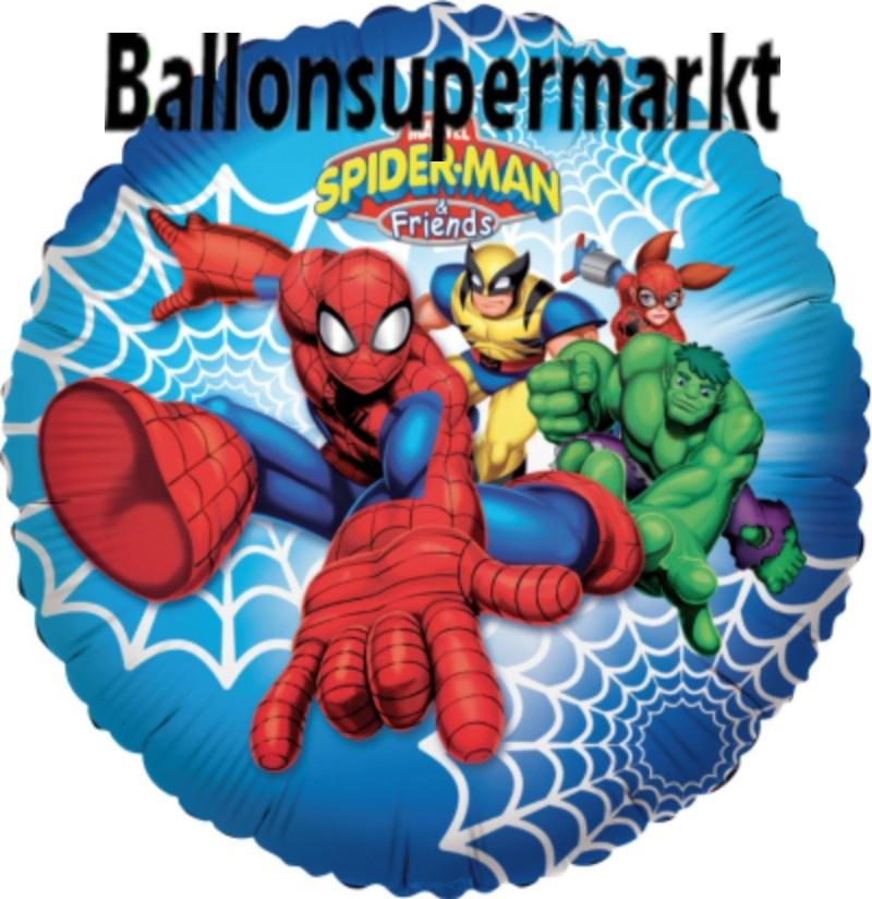 Spiderman und Freunde Luftballon