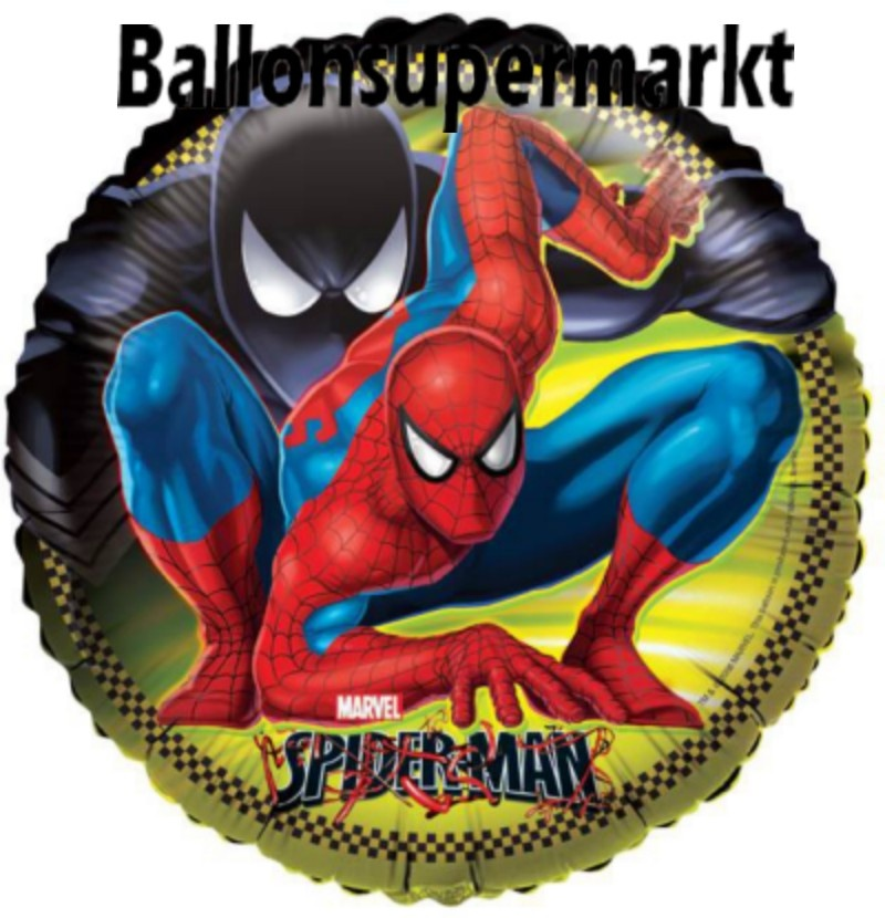 Spiderman Rund-Luftballon