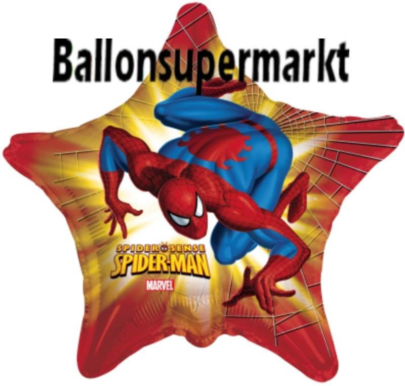 Spiderman Stern Luftballon