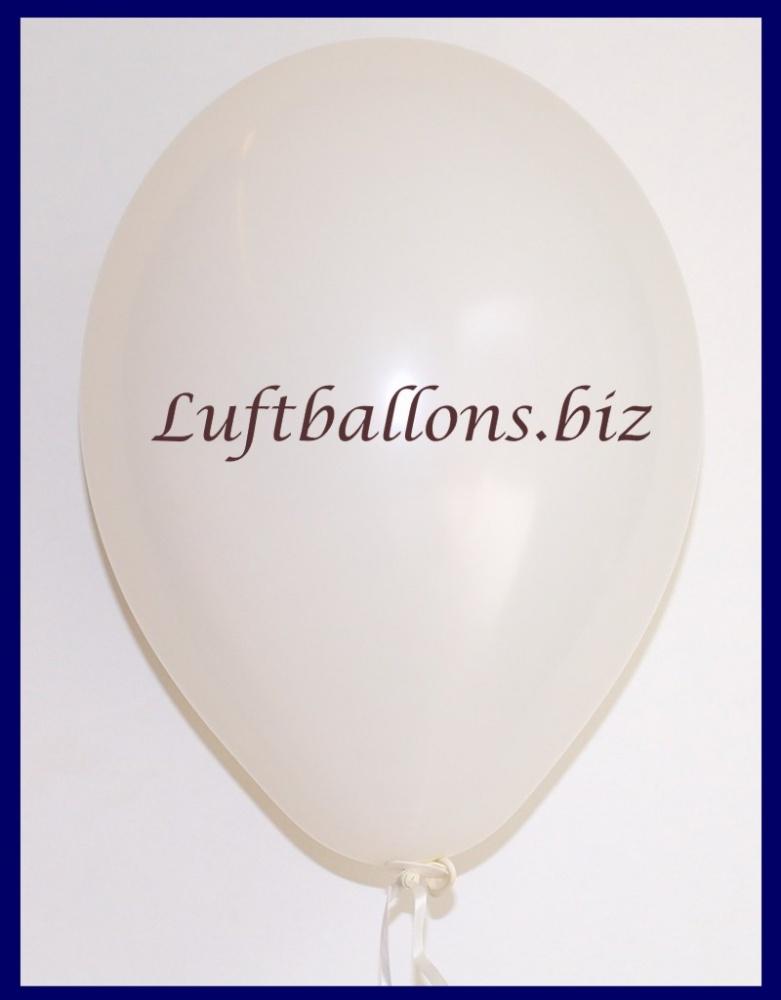 Luftballon Weiß, 25 cm