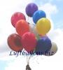 Luftballons, Rundballons in 25 cm, Limonen-Gelb, 100 Stück