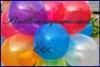 Deko-Luftballons, Kristallfarben, Orange, 28-30 cm, 1000 Stück