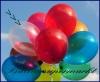 Deko-Luftballons, Kristallfarben, Transparent, 28-30 cm, 50 Stück