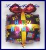 Happy Birthday Geschenk, Folien-Luftballon zum Geburtstag