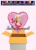 Barbie Luftballon mit Helium, Kindergeburtstag u. Geschenk
