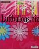 Girlande, Party- und Festdekoration, Papiergirlande, Blumen, 3 Meter