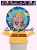 Bob der Baumeister Luftballon mit Helium, Kindergeburtstag u. Geschenk