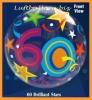 Bubble-Luftballon, Happy Birthday 60, Brilliant Stars