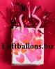 Ballongewicht, Geschenktüte, Herzen