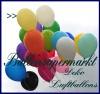Deko-Luftballons, Standardfarben, Limonengrün, 28-30 cm, 100 Stück