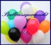 Deko-Luftballons, Standardfarben, Schwarz, 28-30 cm, 100 Stück