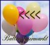 Deko-Luftballons, Standardfarben, Maisgelb, 28-30 cm, 500 Stück