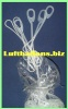 Deko-Fixverschlüsse für Luftballons, 100 Stück
