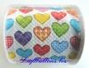 Designer Toilettenpapier, Colourful Hearts