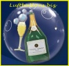 Double-Bubble, Insider PVC-Luftballon, Champagner