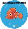 Finding Nemo Luftballon mit Helium, Kindergeburtstag u. Geschenk
