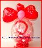 Geschenkballon Ich Liebe Dich, Geschenk im Luftballon, Geschenkverpackung Liebe