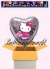 Hello Kitty Love Luftballon mit Helium, Kindergeburtstag u. Geschenk